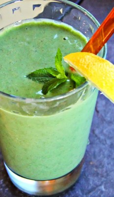 ginger mint smoothie recipe