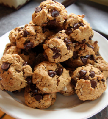 wheat free oatmeal chocolate chip cookies